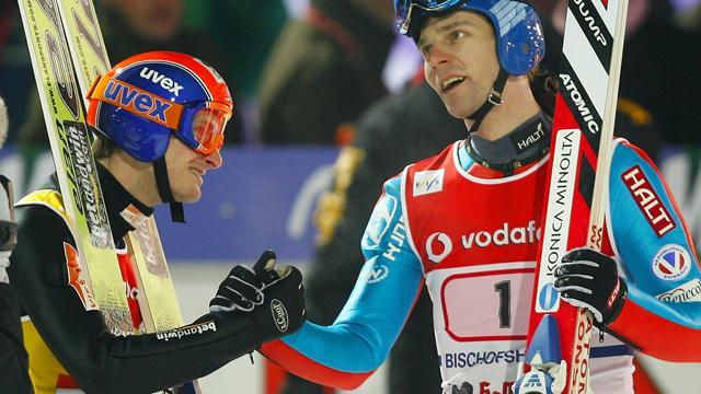 Ahonen and Janda in historic Four Hills tie
