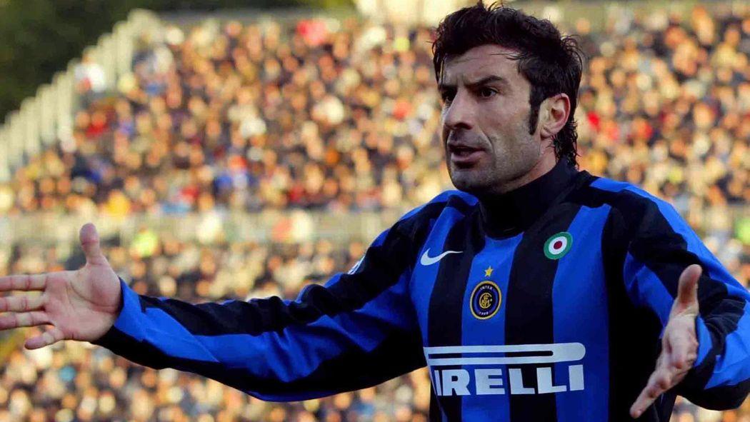 quality design 190b5 d7a37 Figo in the dock - Serie A 2005-2006 - Football - Eurosport
