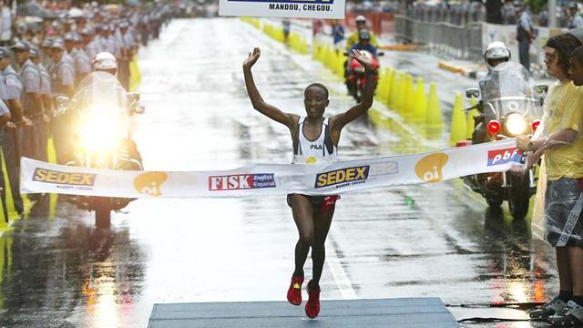 Okayo for the London Marathon