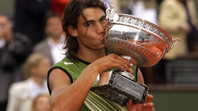 Roland Garros 2005: Rafael Nadal vince il torneo al primo tentativo