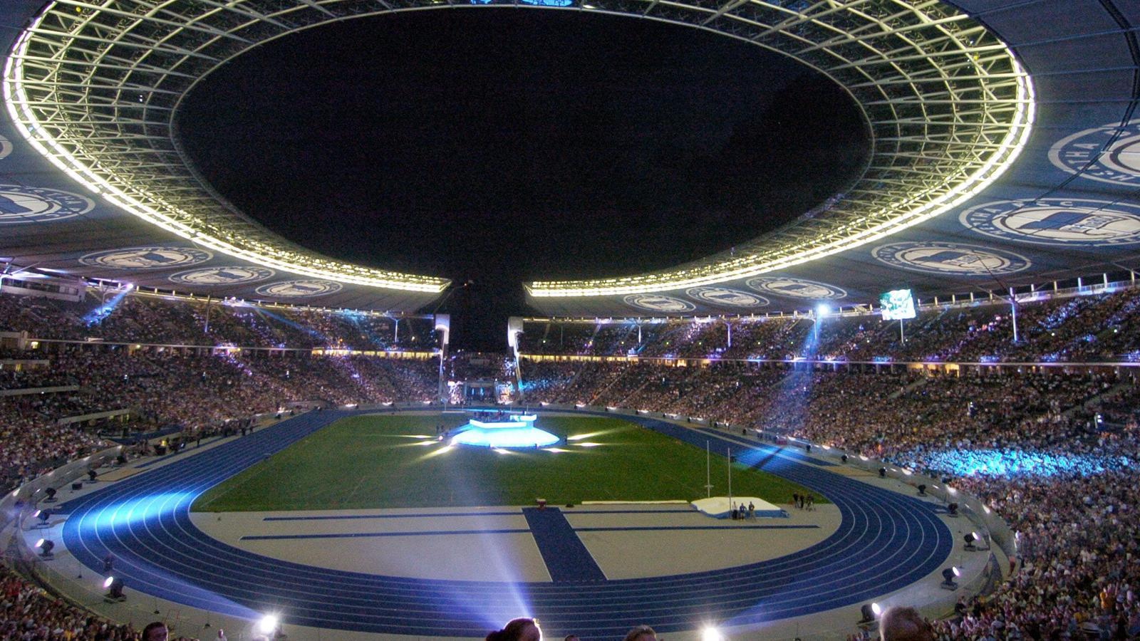 Stade olympique de berlin coupe du monde 2006 football eurosport - Coupe du monde de foot 2006 ...
