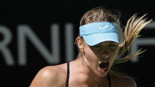 Sharapova sans la manière