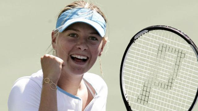 Sharapova sees off Hingis
