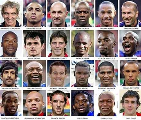 Les surprises du chef coupe du monde 2006 football eurosport - Coupe du monde de football 2006 ...