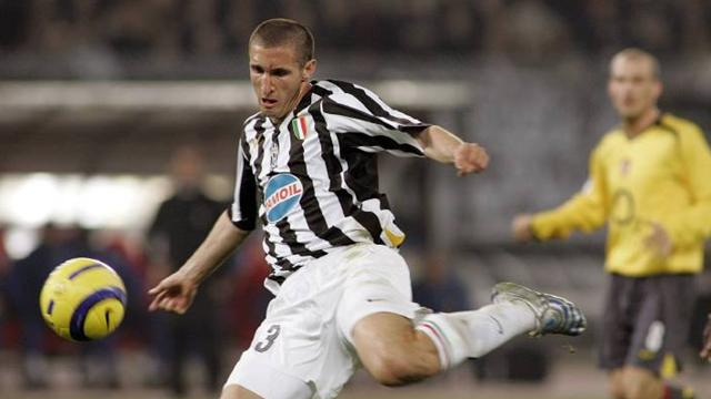Manchester City fail in Chiellini bid