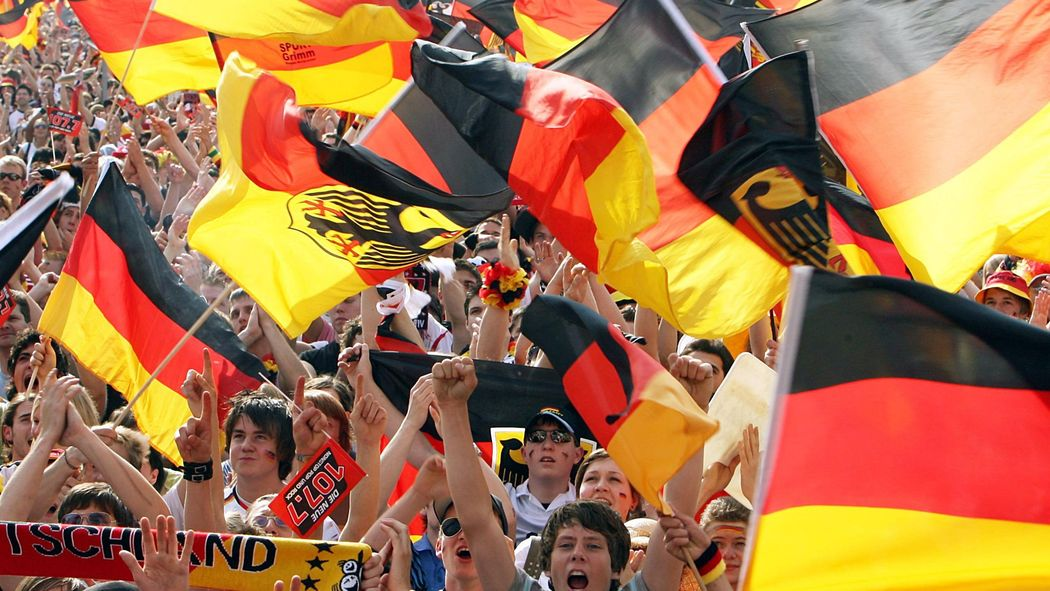 Fussball Wm Deutschland Flagge Der Verkaufsschlager Wm