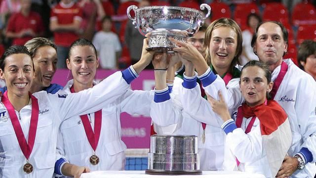 Italy win Fed Cup for first time