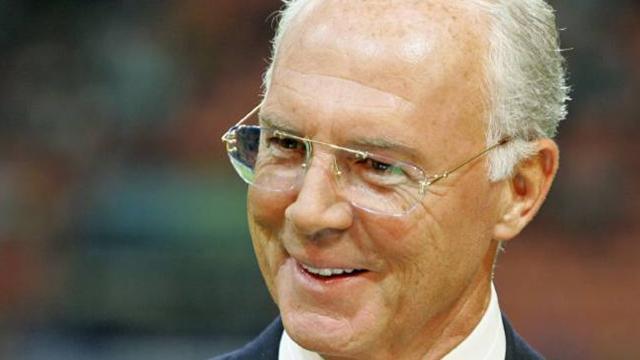 Beckenbauer backs England