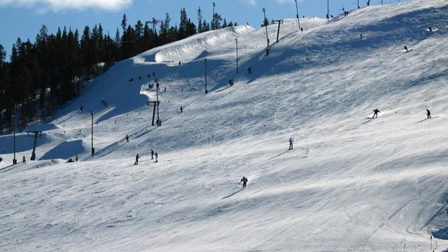 Pas de slalom en Finlande