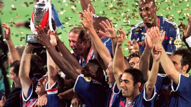 Euro 2000: Le doublé français