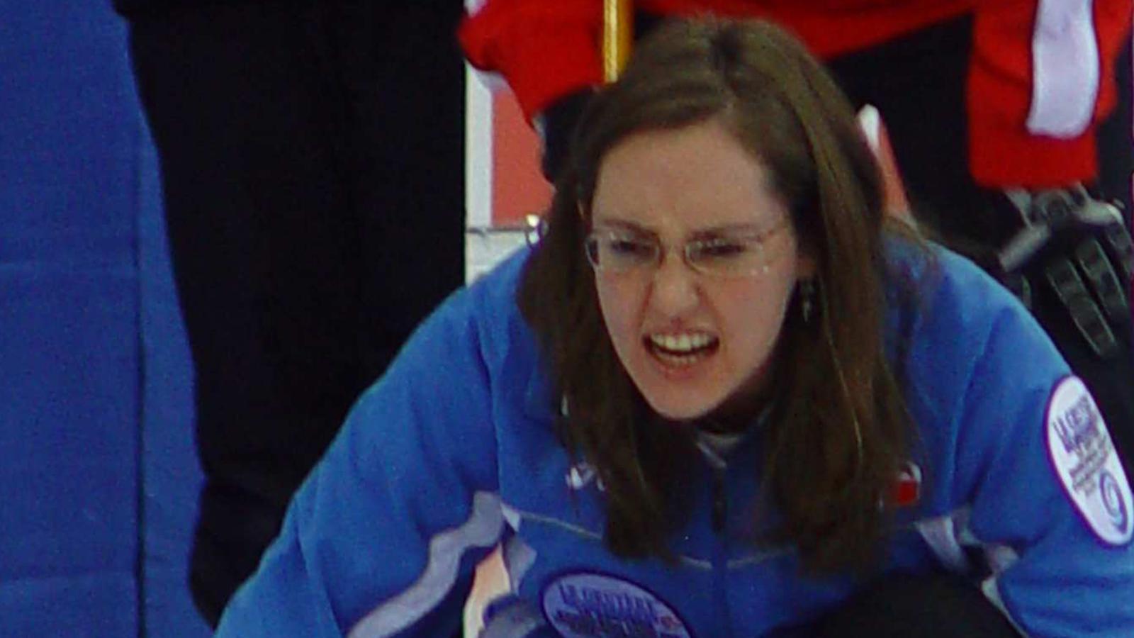 Anette Norberg gaspari woe continues - wch aomori 2007 - curling - eurosport
