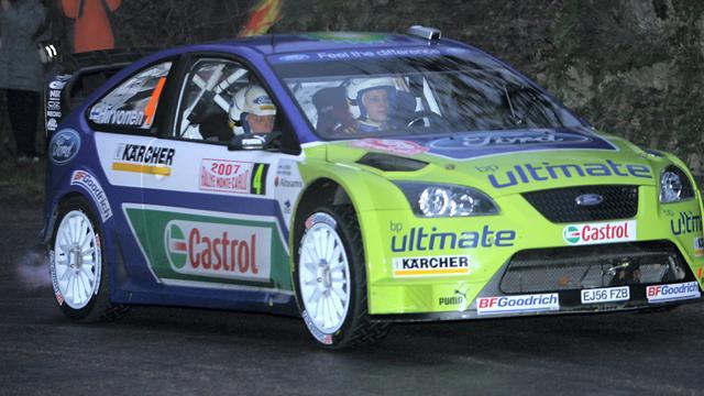 Sur la route du Rallye Monte-Carlo