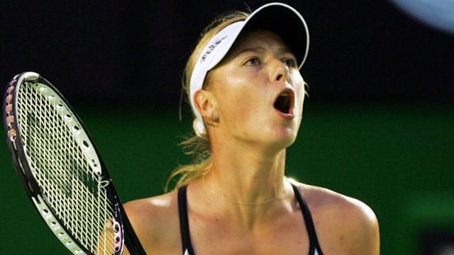 Sharapova en leader