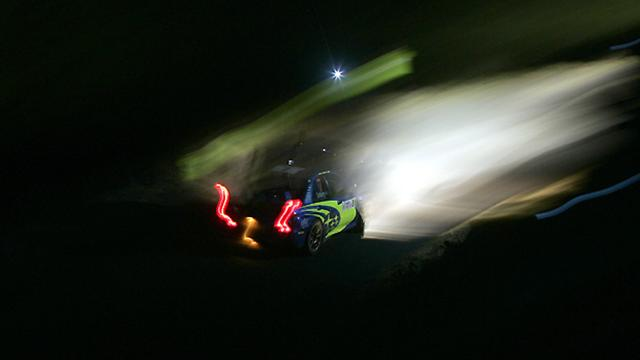 Sur la route du Rallye de Suède