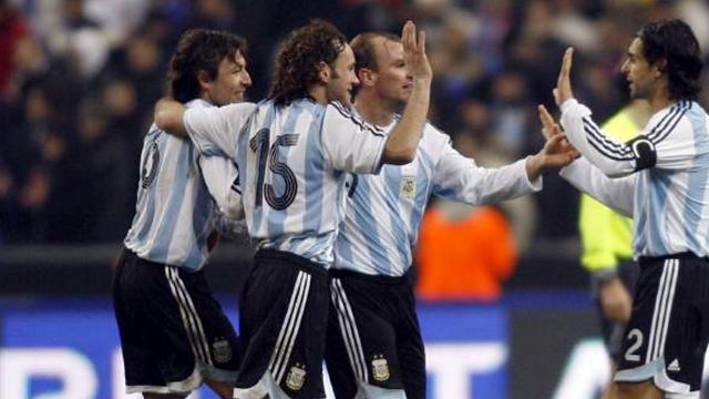 Argentina top FIFA rankings