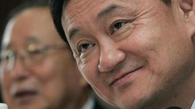 Thaksin attacked over human rights