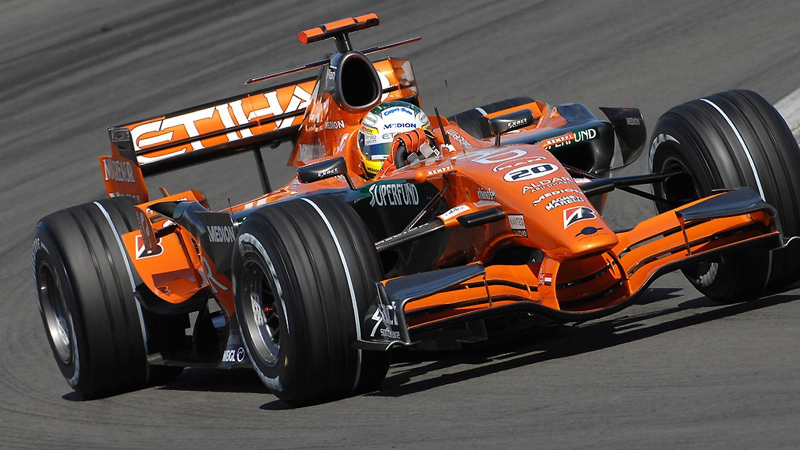 Spyker vendue saison 2007 formule 1 eurosport - Formule vitesse de coupe ...