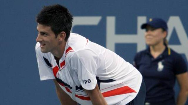"Djokovic suffering ""stage fright"""