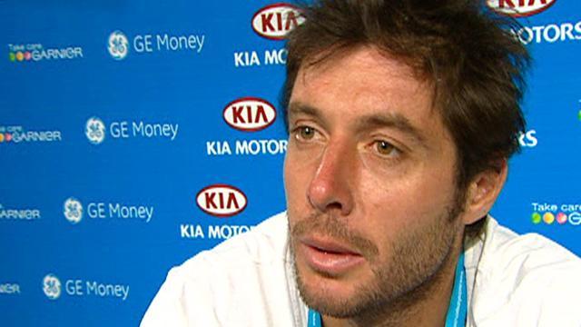 "Grosjean: ""Un bon match"""