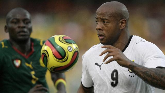 Ghana striker Junior Agogo dies at age 40