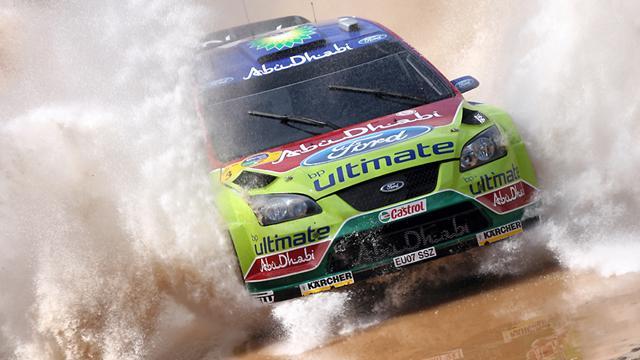 Sur la route du Rallye d'Argentine