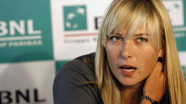 "Sharapova : ""Je vais à Paris"""