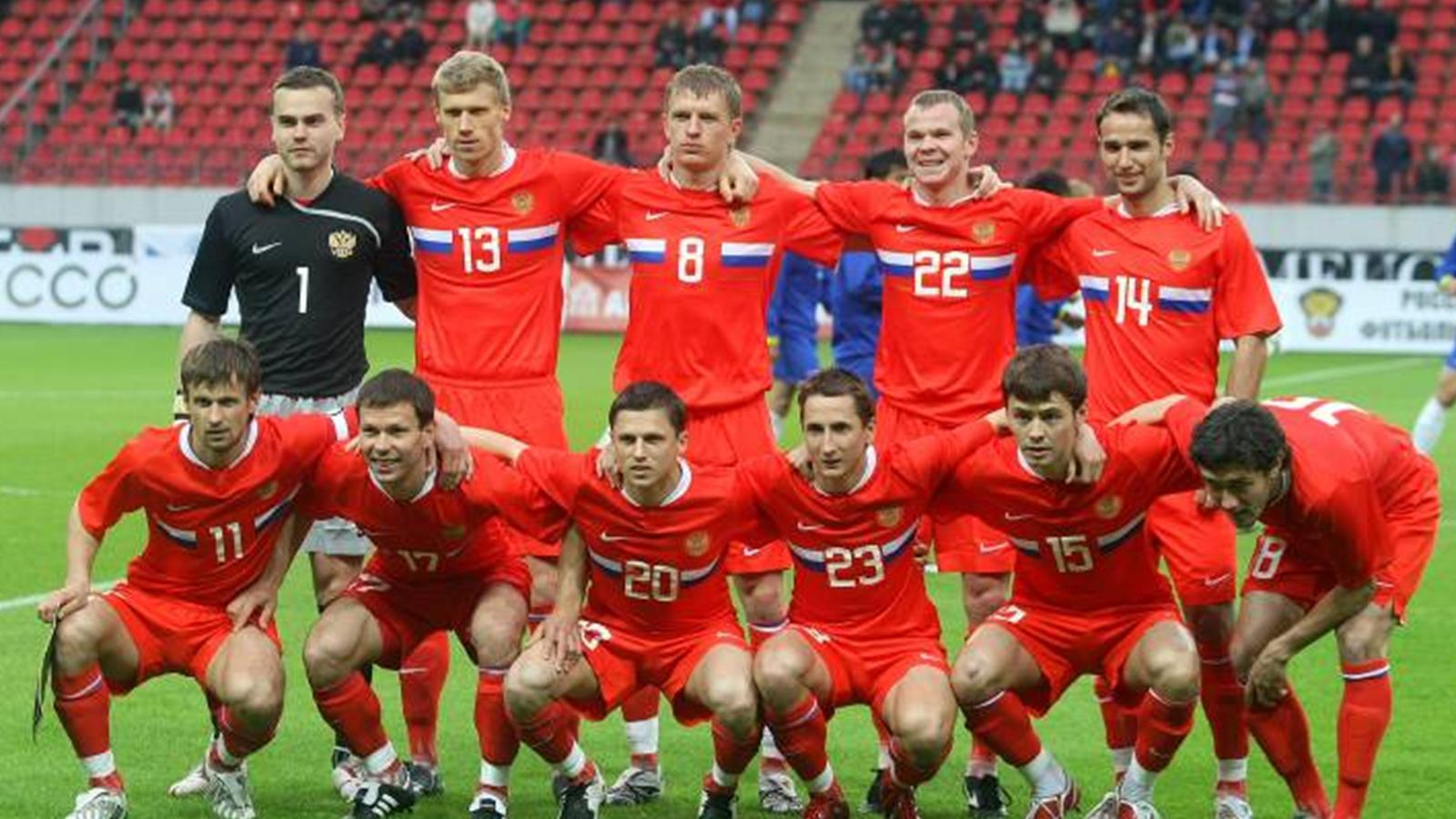 евро 2008 сборная россии фото