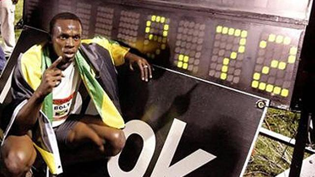 "Bolt en 9""72 !"