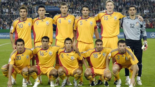 Labdarúgó EB: Románia-Labdarúgás