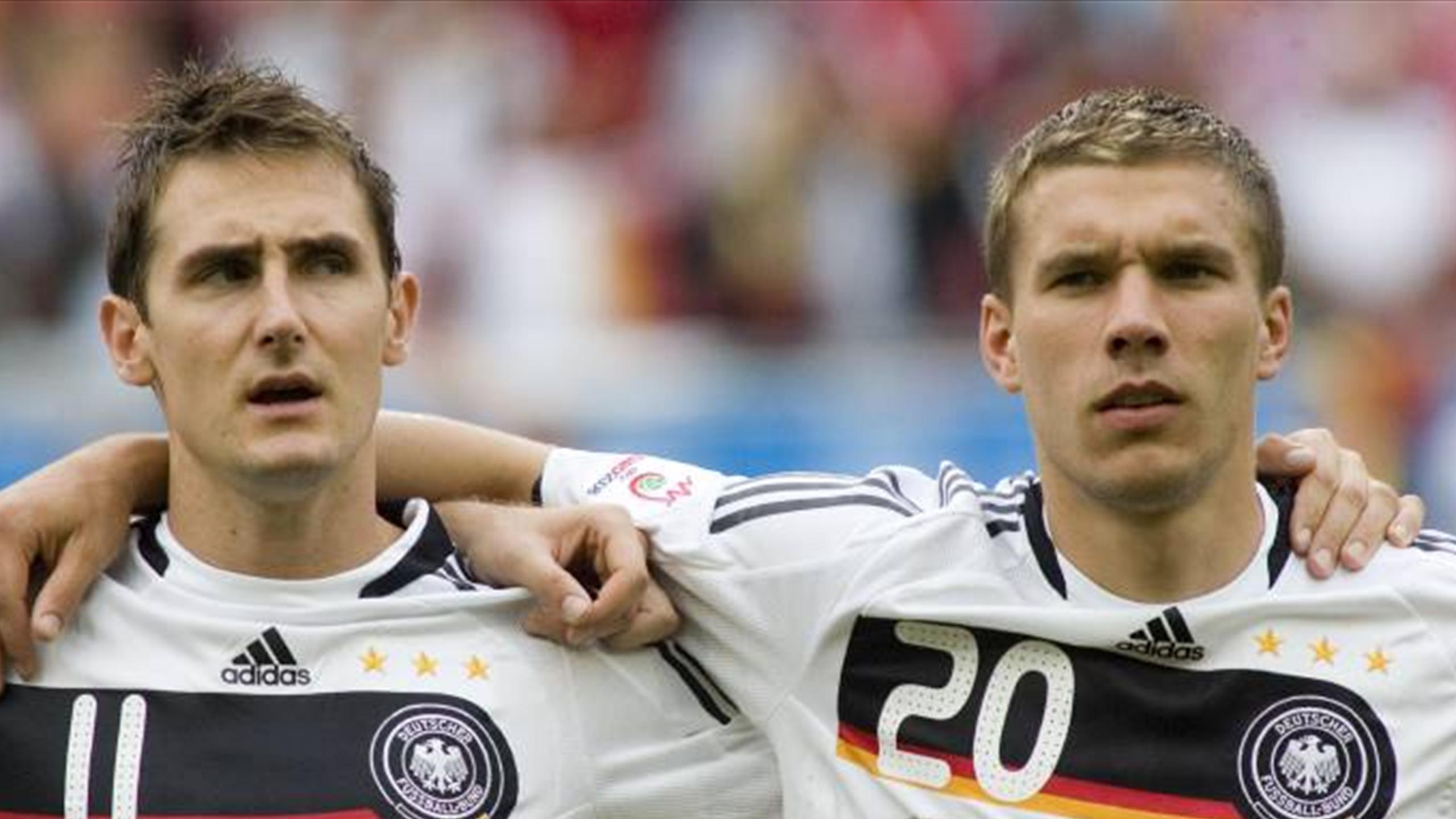 Немецкая футбольная команда 2008