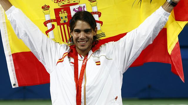 Nadal on top of the world
