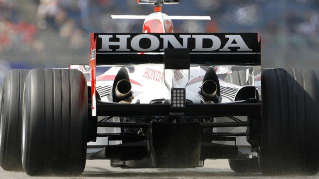 Honda pulls out of Formula One