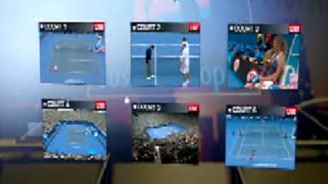 Australian Open live on Player