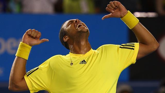 Tsonga en quarts de finale