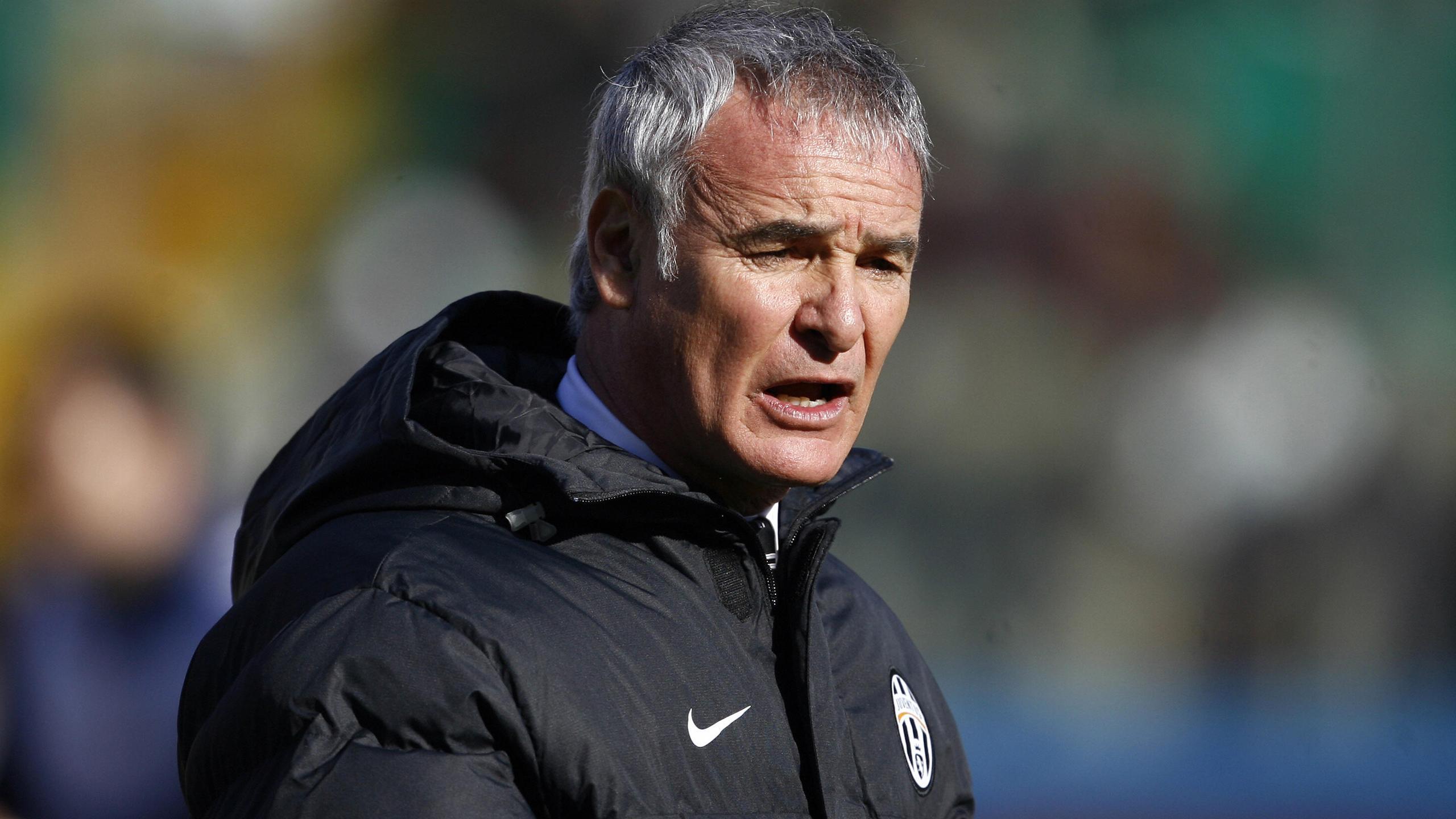 Claudio Ranieri lors de son passage sur le banc de la Juve