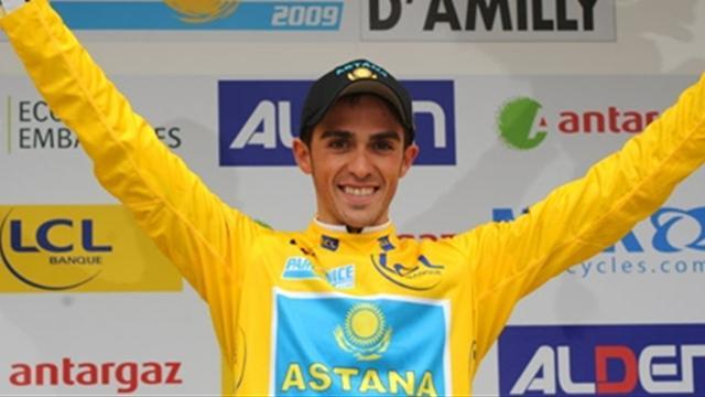 Contador déjà au top
