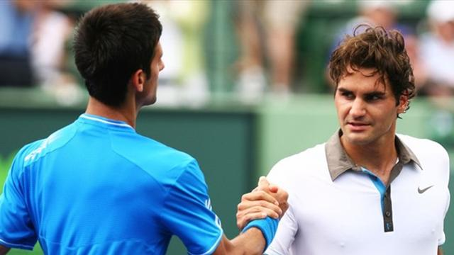 Djokovic s'offre Federer