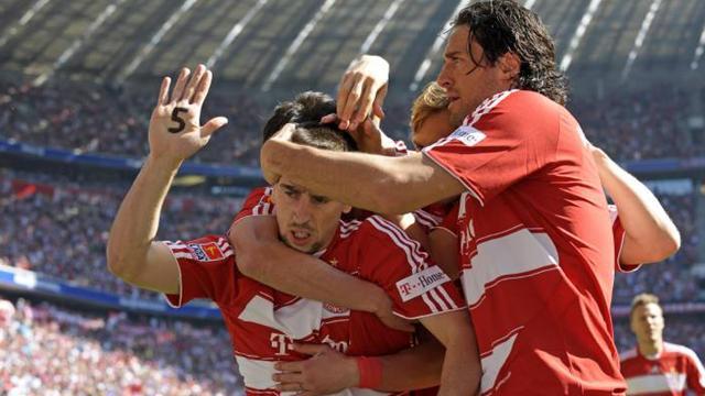 La Bayern repart