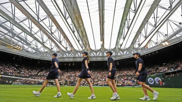 Wimbledon finance un toit pour son Court N.1