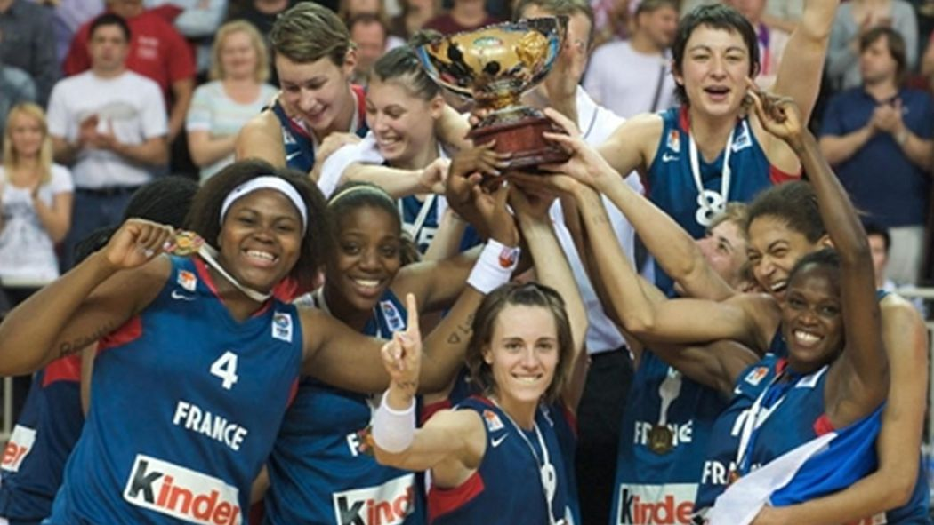 La France Reine D Europe Euro Feminin 2009 Basketball Eurosport