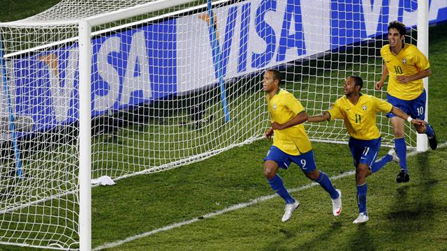 Brazil win as Italy crash out