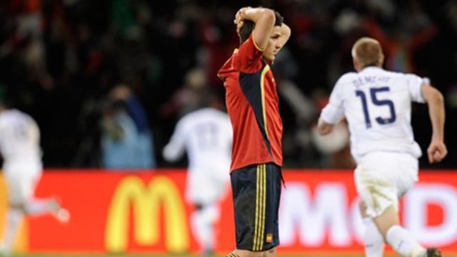L'Espagne prend la porte