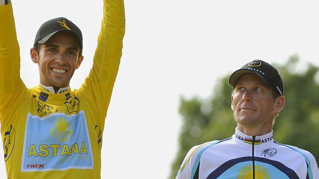 La última crítica de Lance Armstrong a Alberto Contador por el tope salarial