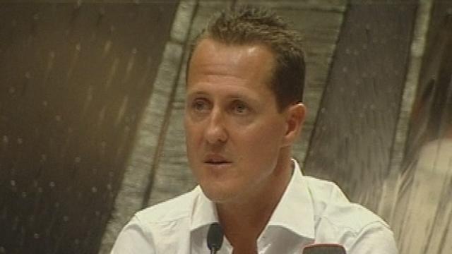 Schumacher très déçu