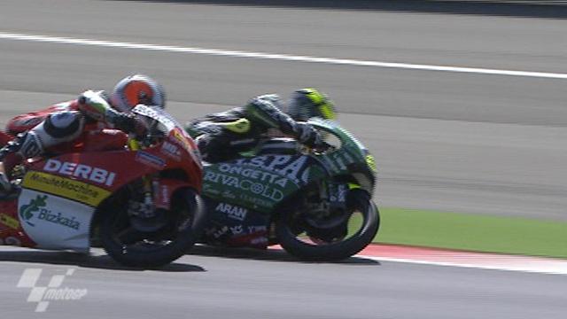 Simon extends 125cc lead