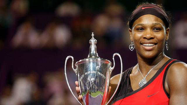 Serena termine le travail