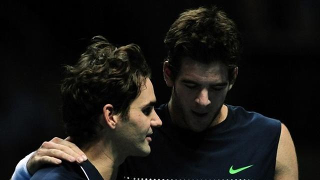 Del Potro et Federer y sont