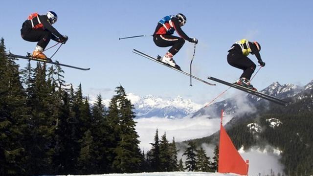 Le skicross, seule nouveauté