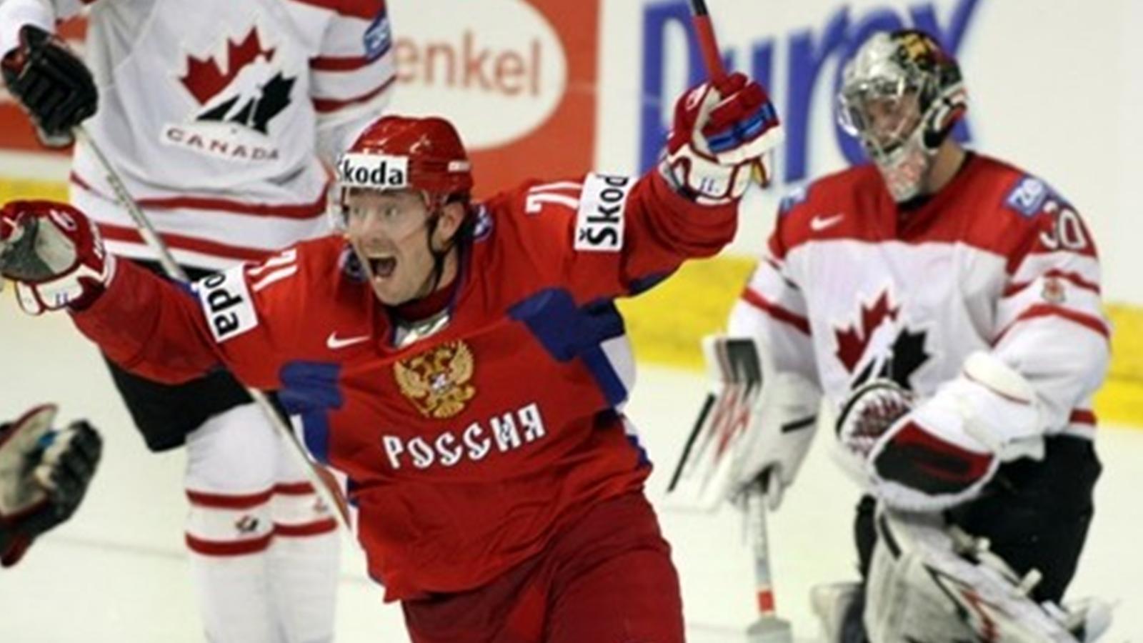 Хоккей россия канада 2008 9 фотография