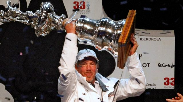 Ellison juggling America's Cup with business
